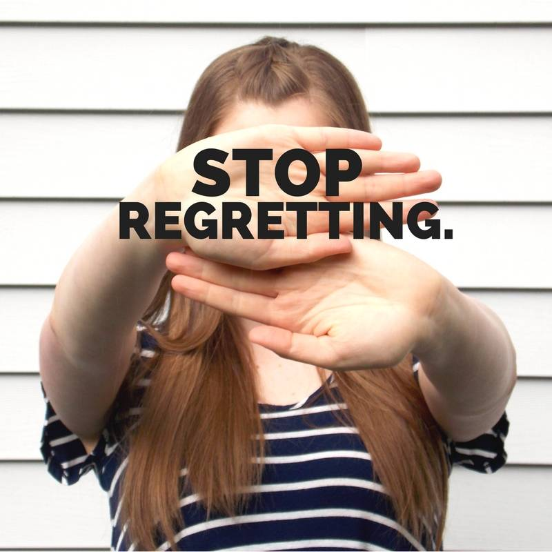 Stop Regretting || Finding You Series